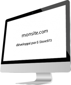 écran publicitaire E-store973